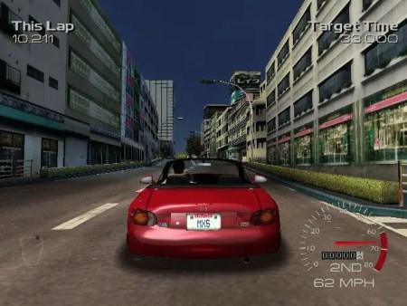 Metropolis Street Racer ©Sega