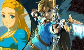 Das gefällt Zelda: Link trifft mit seinem Bogen auch auf weite Distanz - (C) Nintendo