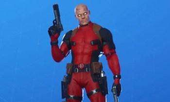 Der unmaskierte Deadpool-Skin in Fortnite