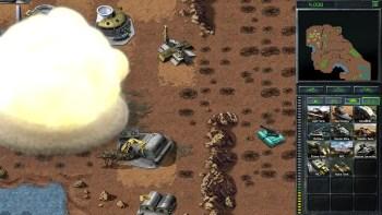 """Der """"Atompanzer"""": Eine Mischung aus Mammut-Panzer und Artillerie mit Atomraketen - (C) EA"""