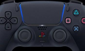 PS5 DualSense Controller in schwarz