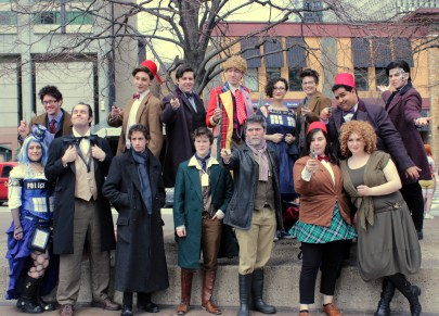Boston Whovians BBC Shoot