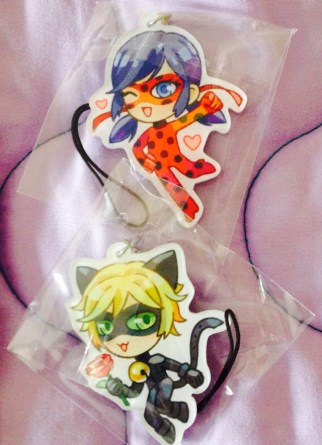 Miraculous Keychains
