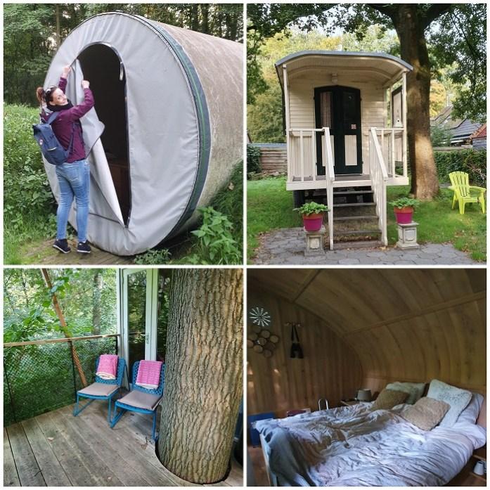 logeren in Flevoland camping Buytenplaets Suydersee