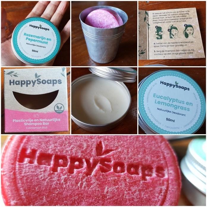 Kritische Test van Happy Soaps zeep en deodorant