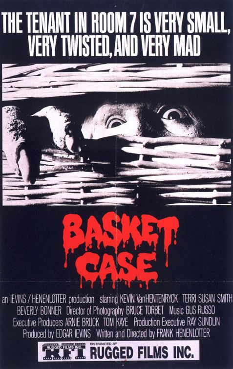 Image result for basket case 1982 vhs cover