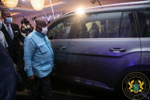 Nana Unveils First Assembled Vehicles In Ghana 3