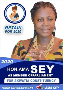 NPP's Ama Sey 'Goes' Independent In Parliamentary Race 1
