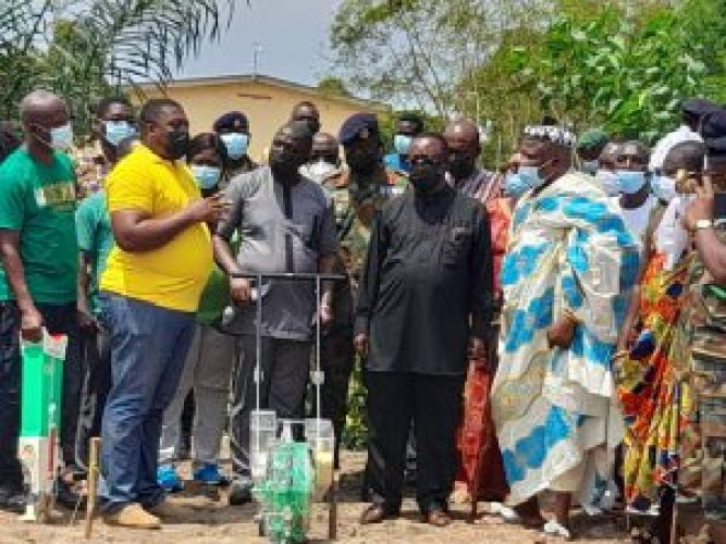 Agric Minister Launches Homowo Goes Green Campaign 1