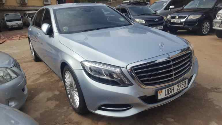 2015 Mercedes Benz S-Class for sale at a cheaper price in Kampala - Uganda (2)
