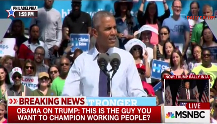 "Obama Makes Fun of The ""Workin' Folks"" For Supporting Trump [VIDEO]"