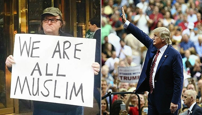 "Trump Voters Are ""LEGAL TERRORISTS"", Declares Liberal Slob Michael Moore"