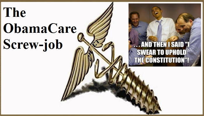 """HOAX & CHAINS: Obama's """"Affordable Care Act"""" Premiums DOUBLE Next Year"""