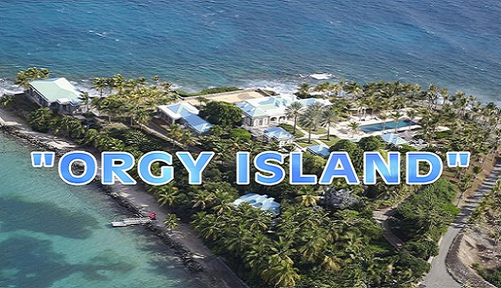 Clinton's Said To Have Visited Epstein's Orgy Island
