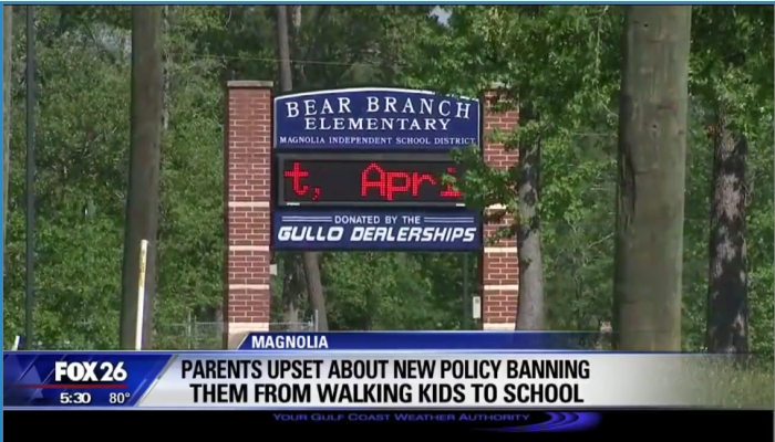 Texas Parents Told They Will GO TO JAIL If They Walk Their Children to School [VIDEO]