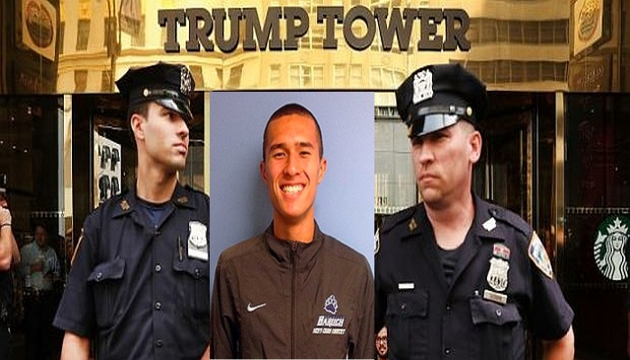 """Guy Named """"WANG"""" Brings Weapons to Trump Tower — Gets Arrested [VIDEO]"""