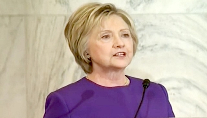 The Incredible, Spineless Hillary Clinton