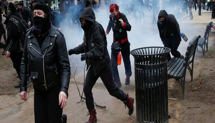 Trump Is President, And Now The Left Justifies Political Violence