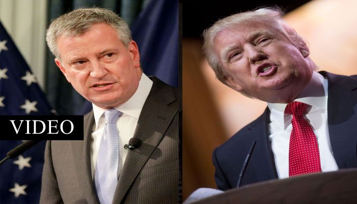 Mayor De Blasio BLOWS UP On CNN, THREATENS Trump Over NYC Harboring 500,000 ILLEGALS
