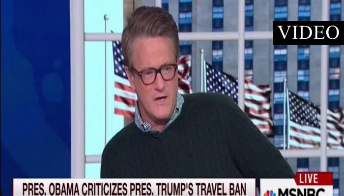 MSNBC's Scarborough: Self-Righteous Obama Should Keep His Mouth Shut [VIDEO]