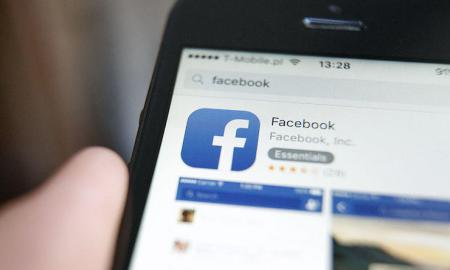 An Illustration of Facebook logo, on May 9, 2016. Facebook won a court case in China against Zhongshan Pearl River Drink Factory for using the name face book. The result of the case is said to show that China is easing it's attitude towards the social network which is officially banned in the country. (Photo by Jaap Arriens/NurPhoto)