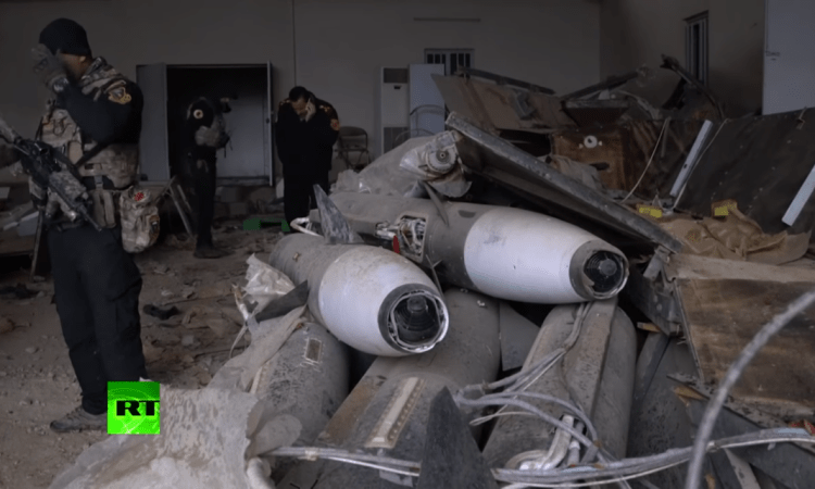 Iraqi Soldiers Just Discovered ISIS Chemical Weapon Arsenal in Mosul [WATCH]