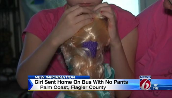 Florida Family Is PISSED OFF After Daughter Is Sent Home From School In Underwear
