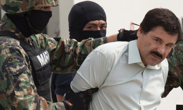 Cartel Kingpin El Chapo In Court Friday Morning, Facing Multiple Charges In The U.S.