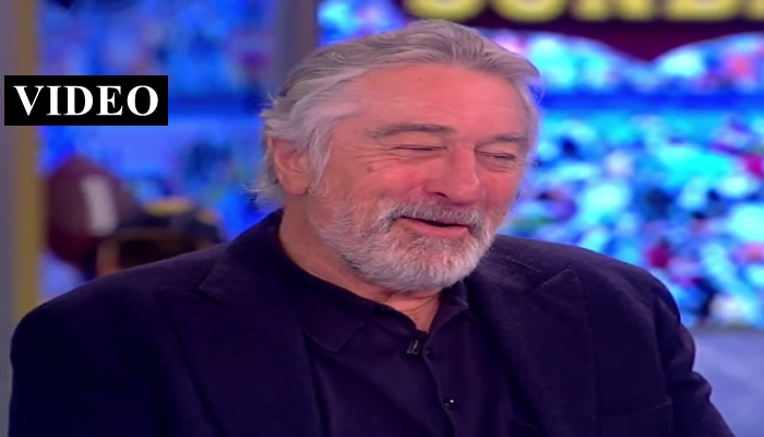 "Robert De Niro on President Trump: ""Of Course I Want to Punch Him in the Face"""