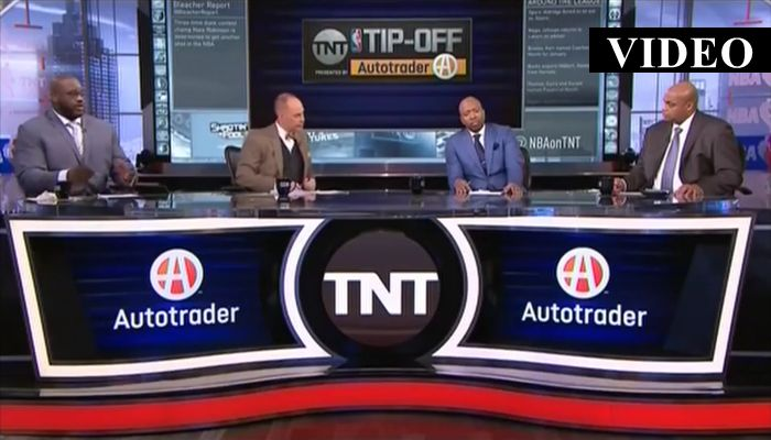 """I Would've Punched You In Your Face"": Shaq and Barkley Go At It On TNT"