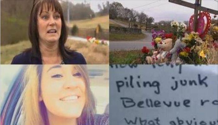 Mom Is Horrified Over Cruel Note Left At Deceased Daughter's Memorial