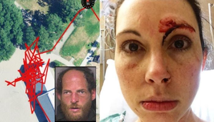 """Not Today MotherF***er!"": Jogger Fights Off Rapist, Captures Entire Attack On Fitness Tracker"