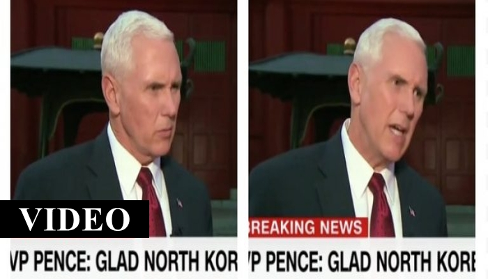 "N. Korea Said Pence Is Acting Like A ""Gangster"" — So He Responded Like A Straight Up Gangsta"