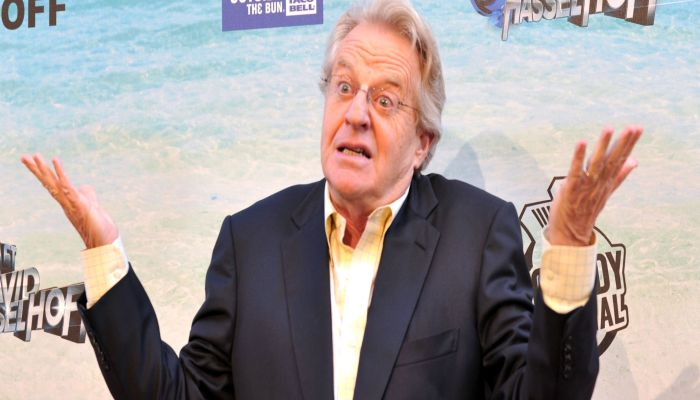 Democrats Reportedly Want Jerry Springer — JERRY SPRINGER — To Run For Office