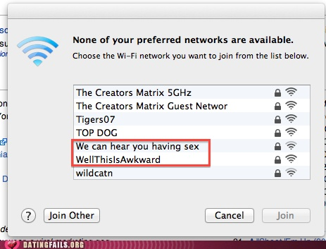 WiFi Names That Will Make You Burst Out Laughing [PHOTOS]