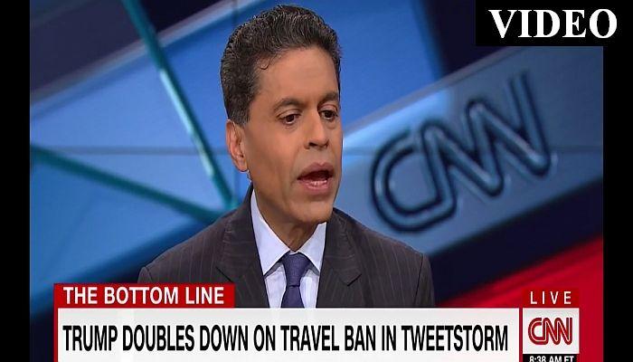 """CNN's Fareed Zakaria Calls Travel Ban """"Nonsense Solution To A Non-Problem"""""""