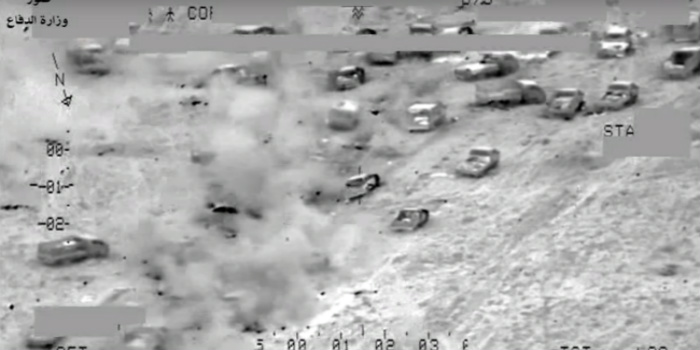 Incredible Footage Of Helo Attack On ISIS Convoy… They Never Stood A Chance [RAW VIDEO]