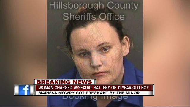 Florida Woman Age 25 Arrested For Getting Pregnant By 11 Year Old Boy