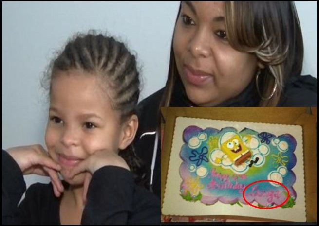 Mother Outraged At Daughter's 'Racist' Birthday Cake