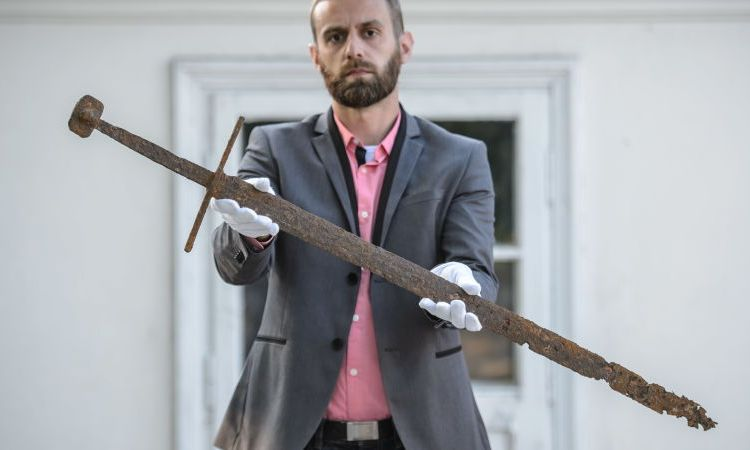 Medieval Sword Found In Unlikely Place