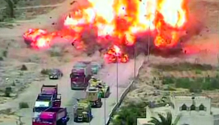 Tank Crew Saves Dozens From Deadly Suicide Bomb By Demolishing Car Packed With Explosives [VIDEO]