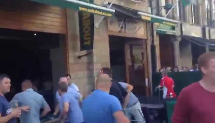 What Would You Do If Attacked By Migrants in Your Own Land For Simply Drinking A Beer? [RAW VIDEO]