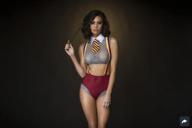 Magical Student Fantasy Lingerie Costume ($36)