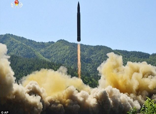 North Korea Test Fires Missile Experts Say Can Reach Alaska [VIDEO]