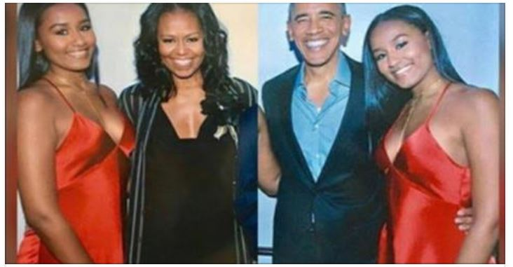 Can You See Why People Are Freaking Out About This Picture Of Sasha Obama? (Photo)