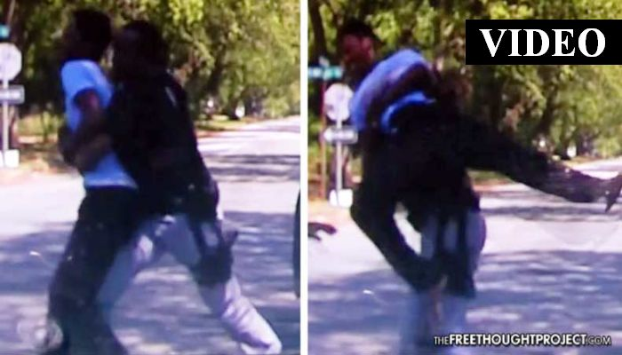Cop Lies About Smelling Weed, Slams Innocent Student's Head Into the Pavement