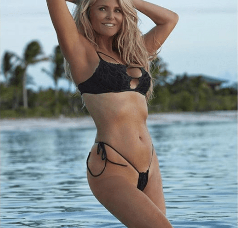 "Christie Brinkley Shares Never Before Seen SI Photo in ""Itsy Bitsy"" Bikini [PHOTOS]"
