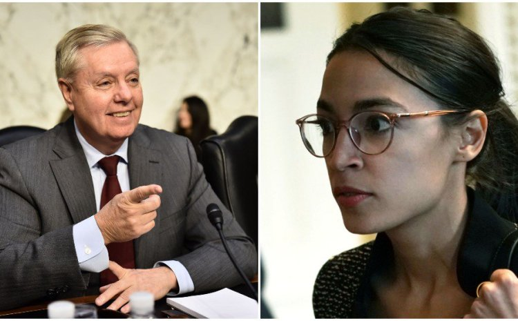 Lindsay Graham Rips AOC A New One For Saying World Will End In 12 Years