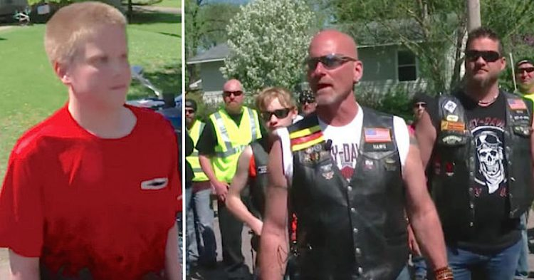Bikers STORMED A Neighborhood Looking For One Person. What Happened When They Found Him Is Unbelievable!