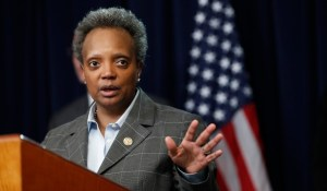 "Chicago Mayor Lori Lightfoot Says She Has Two Words For President Trump: ""F— You"" (VIDEO)"